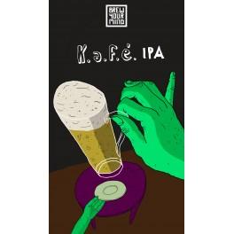 Brew Your Mind - Kafé IPA (0,33l)