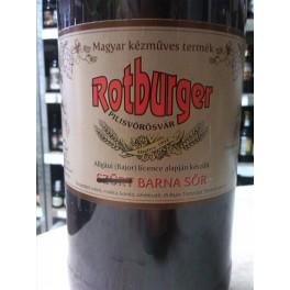 Rotburger Szűretlen Barnasör (2l)