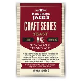 MANGROVE JACK'S M42 New World Strong Ale sörélesztő 10 g