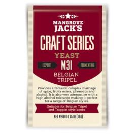 MANGROVE JACK'S M31 Belgian Tripel sörélesztő 10 g