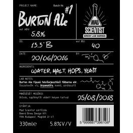 Mad Scientist - Burton Ale 1 (0,33l)