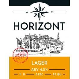 Horizont Hidegkomlózott Lager (0,33l)