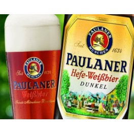 Paulaner Hefe-Weissbier Dunkel búzasör  (0,5l)