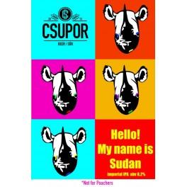Csupor - Hello, my is Sudan (0,33l)