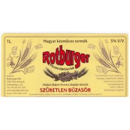 Rotburger - Szűretlen Búza (1l)