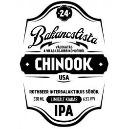 Bakancslista '24 - Chinook (0,33l)