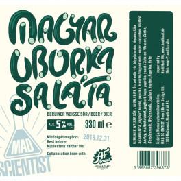 Mad Scientist - Magyar Uborkasaláta (0,33l)