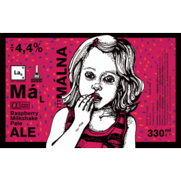 Mad Scientist - Málna (0,33l)