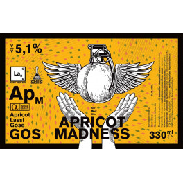 Mad Scientist - Apricot Madness (0,33l)