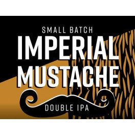 First - Imperial Mustache Double IPA (0,33l)