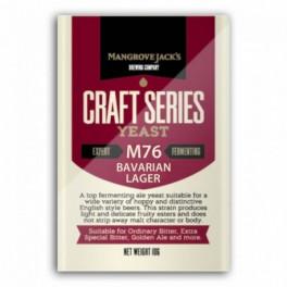 Mangrove Jack's M76 Bavarian Lager sörélesztő 10 g