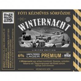Fóti - Keserű Méz - Winternacht  (0,5l)