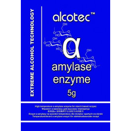 Alcotec - Amiláz enzim / amylase enzyme 5g