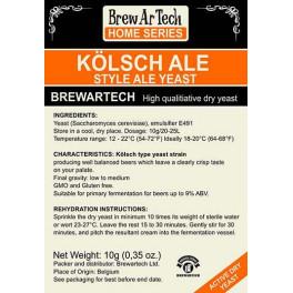 Brewartech - Kölsch Ale sörélesztő 11g