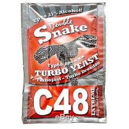 Alcotec - Double Snake C48 Turbo fajélesztő csomag