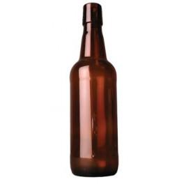 Csatos sörösüveg palack 0,5 L lezáróval (új)