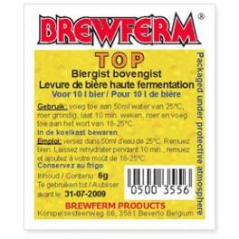 BrewFerm Top sörélesztő (6g)