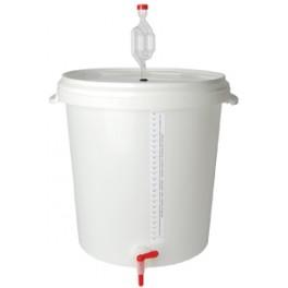 30 Literes erjesztővödör szintjelző matrica nélkül