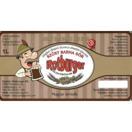 Rotburger Barna (1l)