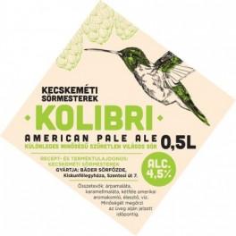 Kecskeméti Sörmesterek - Kolibri APA (0,5l)