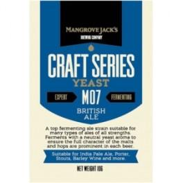 BRITISH ALE M07 Mangrove Jack's sörélesztő 10g