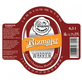 Warrior - Scottish Ale (O.K. Brewery) (0,5l)