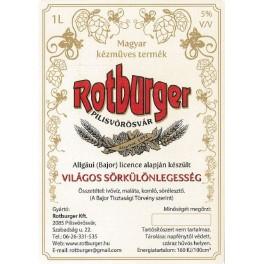 Rotburger Világos (1l)