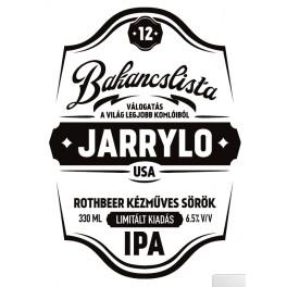 Bakancslista '12 - Jarrylo (0,33l)