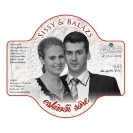 Rizmajer Esküvői sör (0,5l)